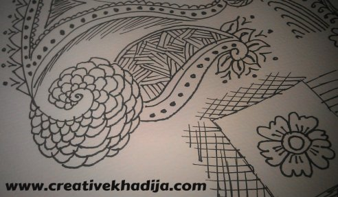 freehand drawings zentangle cards