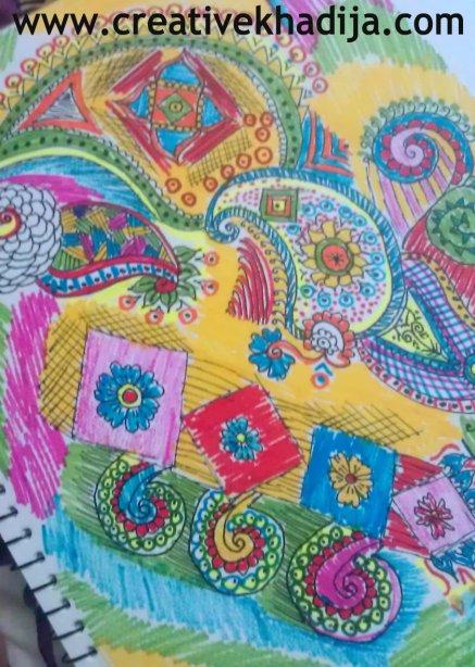 sketchbook drawings card