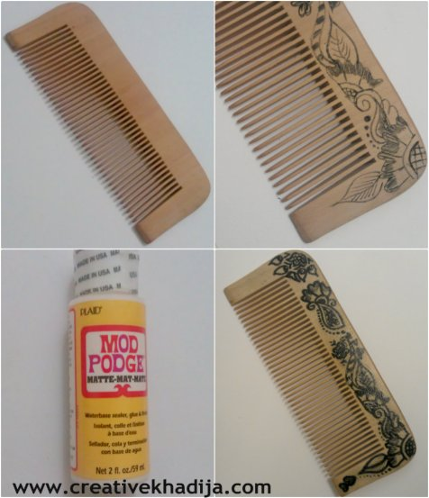 design a hair comb