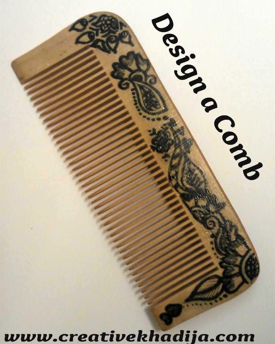 design drawing comb