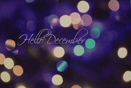 hello december wallpaper 2
