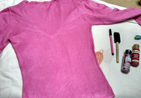 shirt refashion diy