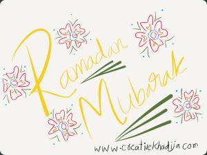 Creative khadija ramadan kareem drawing
