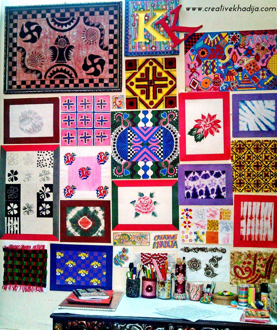 creativekhadija craftroom craft space area-