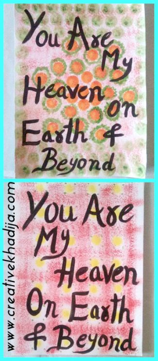 mothers day gift wall art calligraphy lettering art
