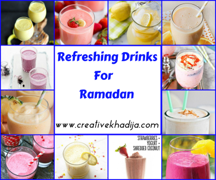 How to make Refreshing drinks in Ramadan