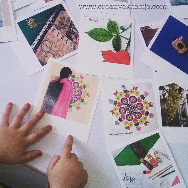DIY Instagram Wall art with Polaroid Prints