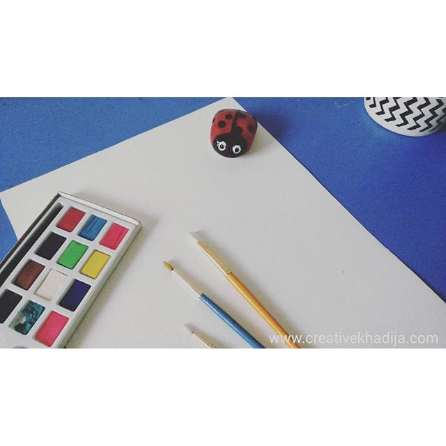 painting with water colors & calligraphy