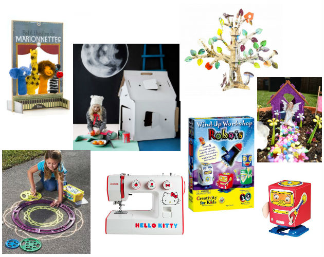 Mood board Of Creative & Arty Gifts For Children This Christmas