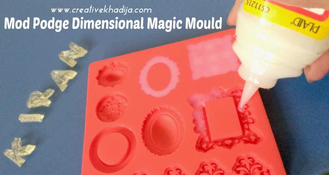 mod podge dimensional magic crafts