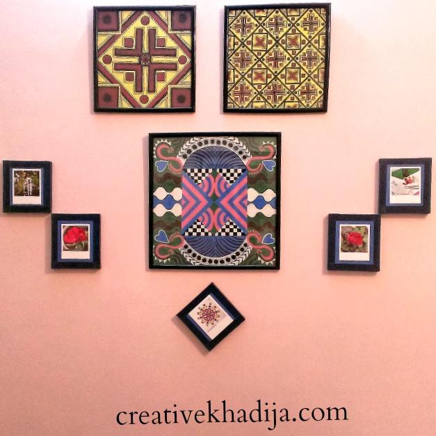 creative khadija craftroom wall art DIY