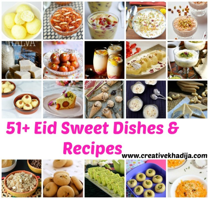 Eid sweet recipes for lunch & dinner