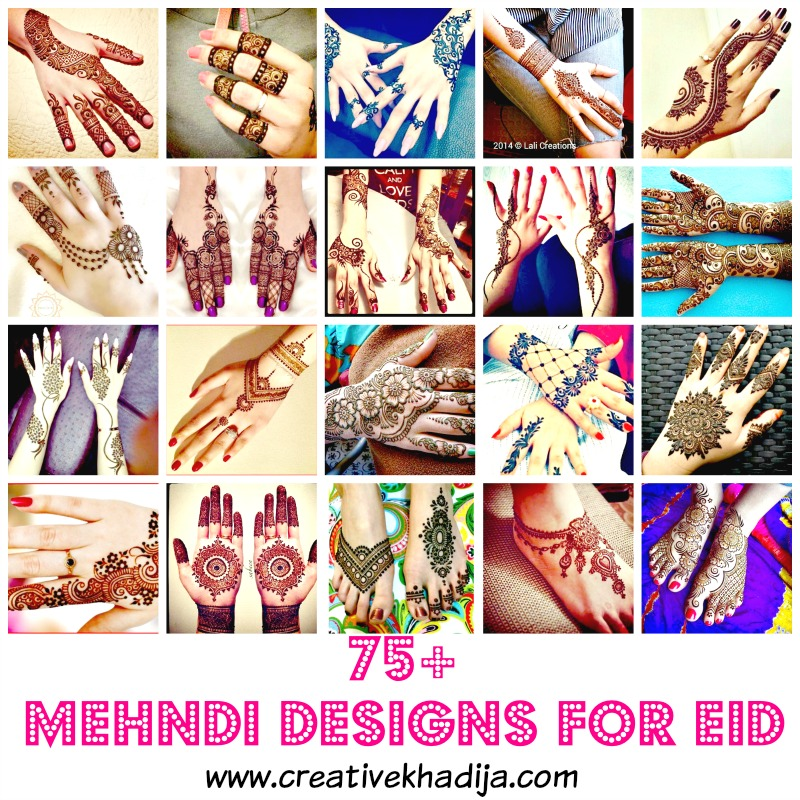 Eid mehndi designs for girls