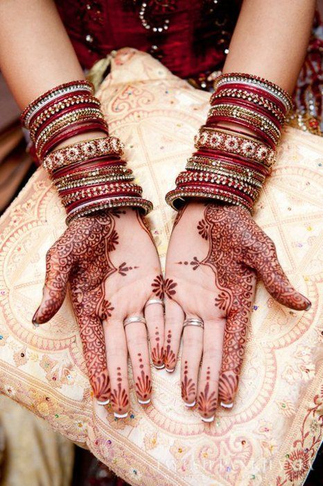 beautiful side bridal mehndi