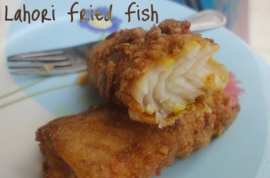 eid recipe lahori fried fish