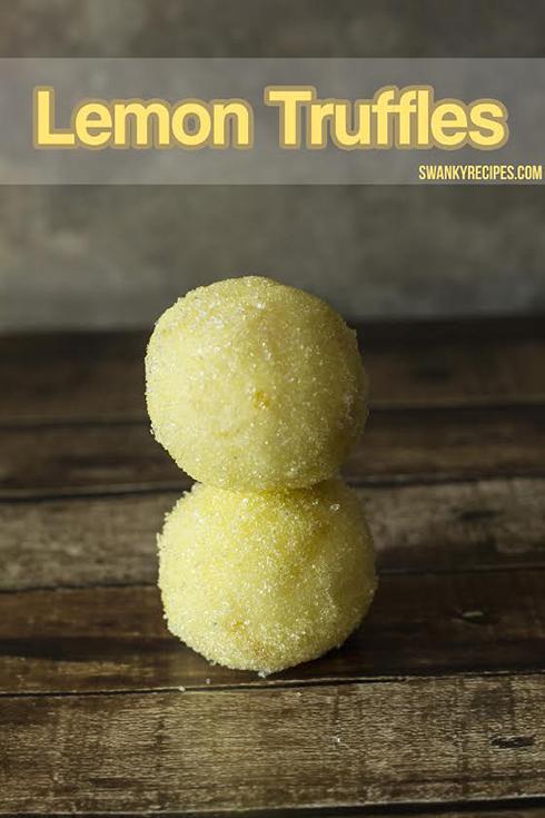 eid recipe lemon truffles