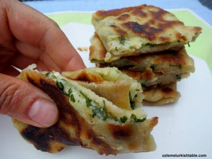 eid recipe turkish gozleme