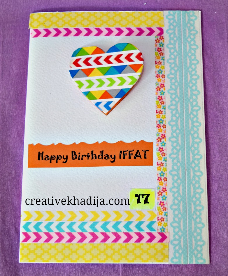 Eid Cards Making Ideas Part - 46: How-to-make-handmade-eid-cards-greeting-birthday-