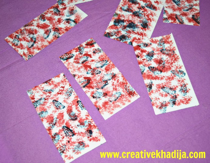 how-to-make-textured-paper-card-making