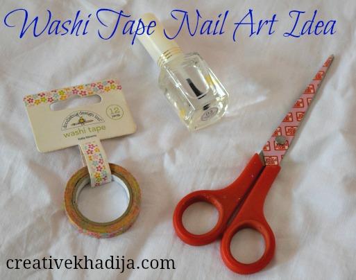 nail-art-ideas-washi-tape-manicure-DIY