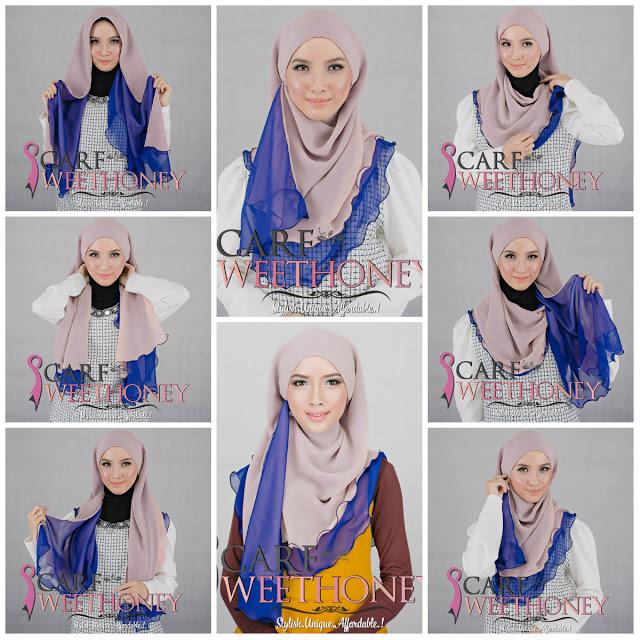 21+ Beautiful Hijab Styles and Scarf Wearing Ideas