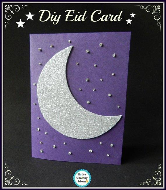 eid crescent card making ideas tutorials