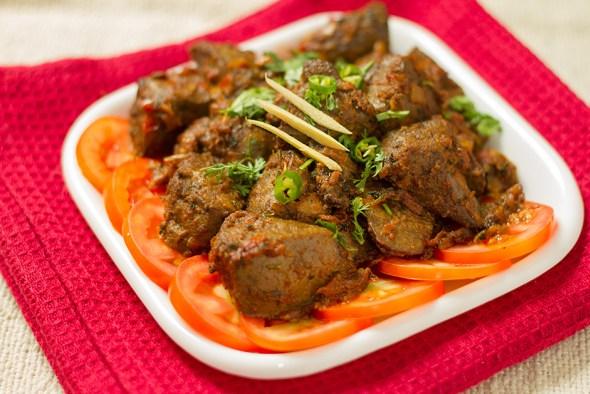 eid recipe kaleji fried