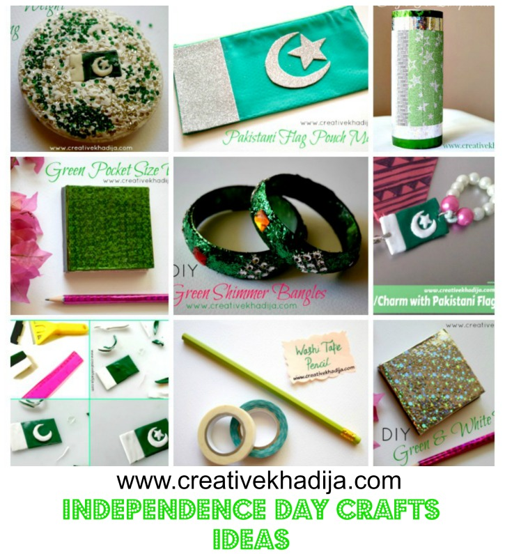 celebrate pakistan day azadi crafts tutorials