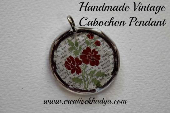 handmade pendant for sale creativekhadija online shop