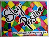 stay-positive-pop-art-typography-wall-art-tutorial ...