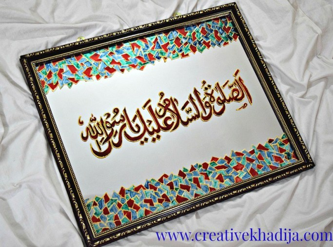 islamic glass painting tutorial