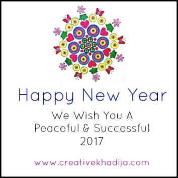 creative khadija happy new year wishes