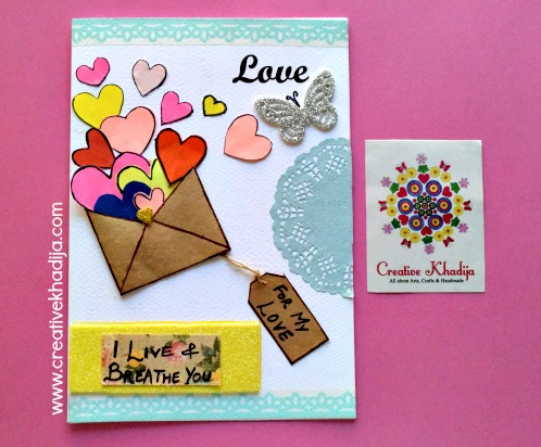 Best Valentine's Day Handmade Cards For Sale By Creative Khadija in Islamabad