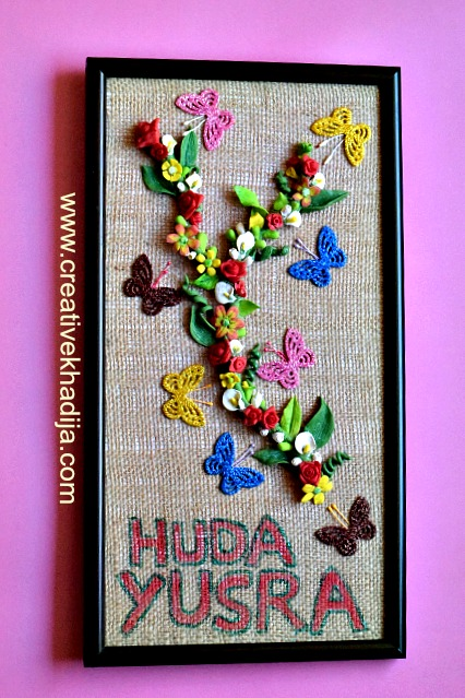 handmade dough flowers decoration ideas by creative khadija