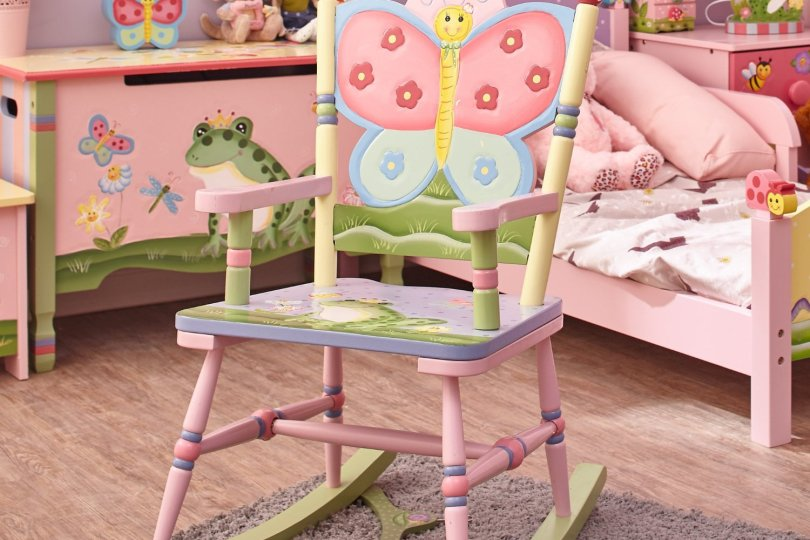 girls rocking chair