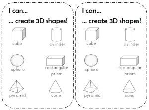 I can 3D shapes3