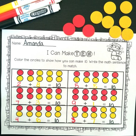 Teach and review number sense skills all year long with these hands-on and engaging math activities. They focus on a variety of concepts and counting principles.