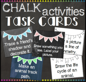 Chalk Task Cards square preview