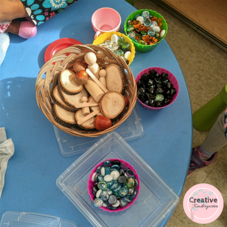 Loose Parts Ideas: Find some loose parts ideas for your kindergarten classroom to add to your hands-on learning. Natural and bought materials to enhance your centers and activities for play-based learning.