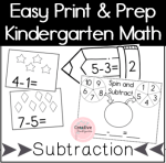 Subtraction Preview