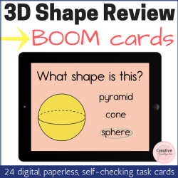 3D Shape Review square thumbnail