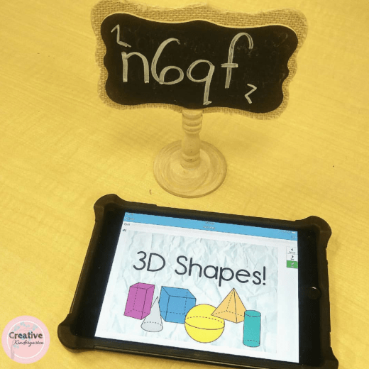 3D Shapes review BOOM cards can be used with iPads and tablets for no-prep, paperless, and self-correcting activity!