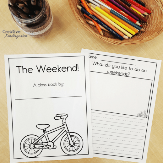 class books are a great way to work on student's writing skills. Perfect for writing center activity for the whole school year.
