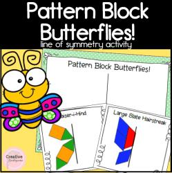 pattern block butterflies square preview