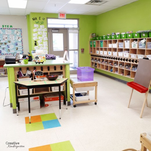 Take a look inside my kindergarten classroom and see how I have set it up for student success. View the different areas of the room, and get ideas for your own classroom.