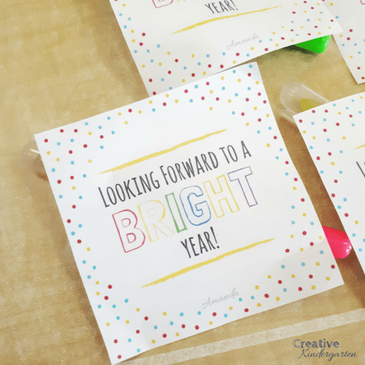 free printable back to school tags for teacher or co-worker gift. Pair the tags with a highlighter as a fun appreciation gift for the beginning of the school year.