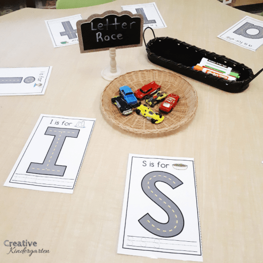 Letter roads to practice letter formation for beginning of the year literacy centers. Great for morning tubs, independent center rotations.