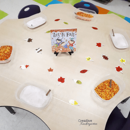 Salt and sprinkle trays to practice writing sight words and letters. A fun, play-based literacy center for kindergarten.
