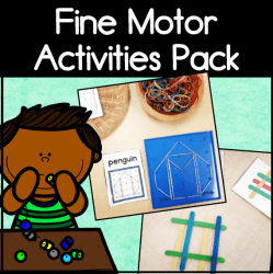 fine motor activities square cover