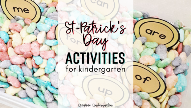 find st-patrick's day activities to try with your kindergarten students. Reinforce math and literacy skills with hands-on and fun centers.
